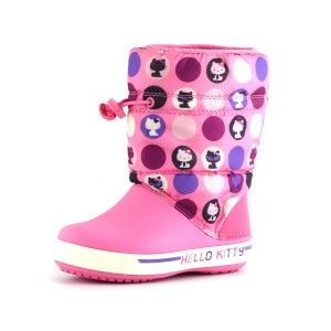 נעלי Crocs לפעוטות Crocs Crocband II.5 Hello Kitty - ורוד