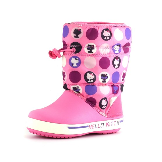 מוצרי Crocs לפעוטות Crocs Crocband II.5 Hello Kitty - ורוד