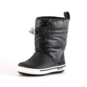 נעלי Crocs לפעוטות Crocs Crocband Iri Gust Boot Kids - שחור