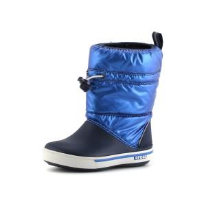 נעלי Crocs לפעוטות Crocs Crocband Iri Gust Boot Kids - כחול
