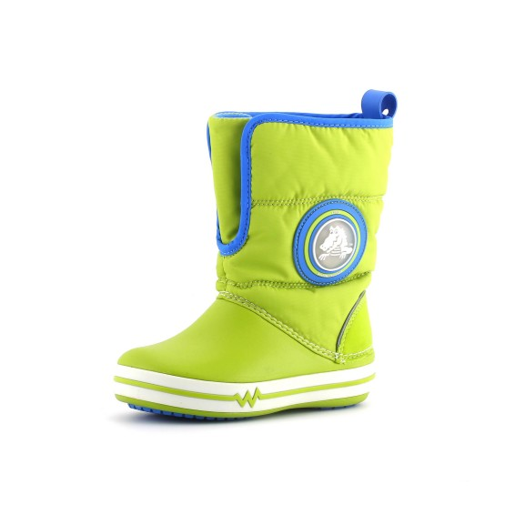 מוצרי Crocs לפעוטות Crocs Lights Gust Boot PS - ירוק