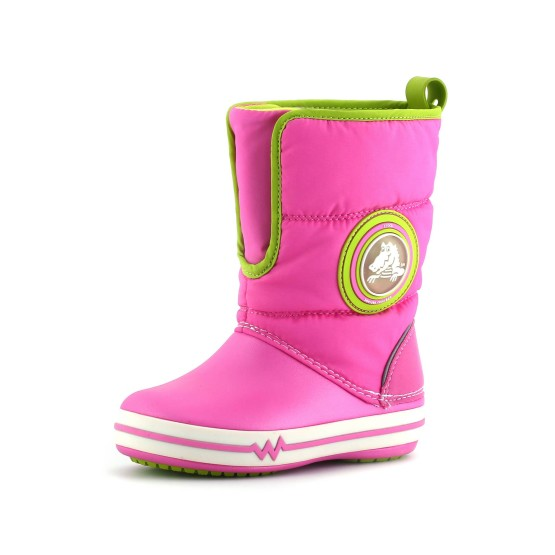 מוצרי Crocs לפעוטות Crocs Lights Gust Boot PS - ורוד