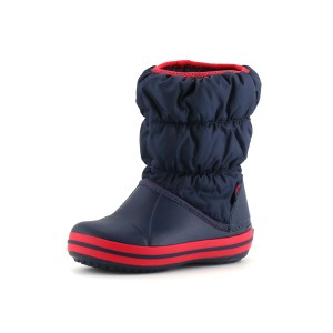 נעלי Crocs לפעוטות Crocs Winter Puff Boot Kids - כחול