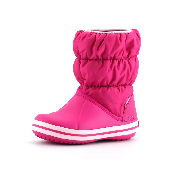 מוצרי Crocs לפעוטות Crocs Winter Puff Boot Kids - ורוד