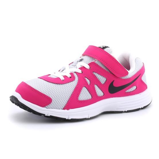 מוצרי נייק לנוער Nike Revolution 2 PSV - לבן/ורוד