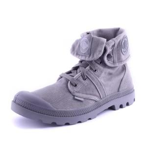 נעלי פלדיום לגברים Palladium Pallabrouse Baggy - אפור