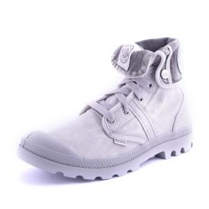 נעלי פלדיום לגברים Palladium Pallabrouse Baggy - אפור בהיר