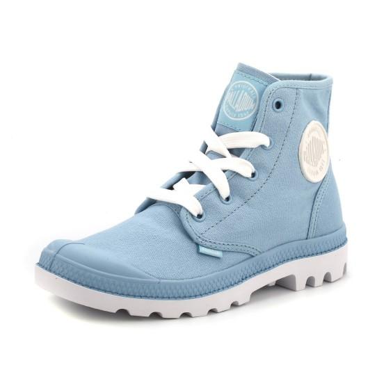 נעלי פלדיום לנוער Palladium Blanch HI - תכלת