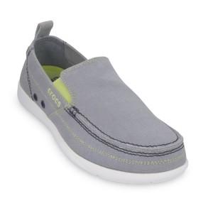 נעלי Crocs לגברים Crocs Walu - אפור בהיר