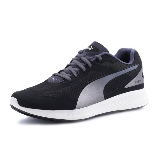 נעלי פומה לגברים PUMA Ignite Mesh - שחור/לבן