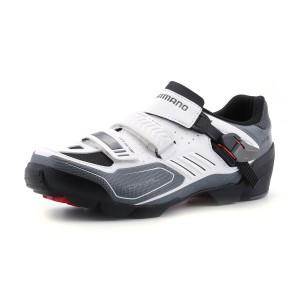 נעלי שימנו לגברים Shimano  M163 - שחור/לבן