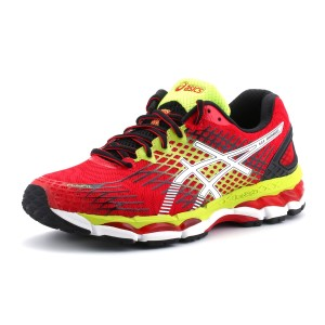 נעלי אסיקס לגברים Asics Gel-Nimbus 17 - אדום