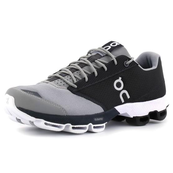 נעלי און לגברים On Cloudster - שחור/אפור