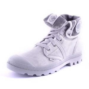 נעלי פלדיום לנשים Palladium Pallabrouse Baggy - אפור