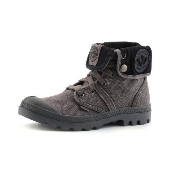 נעלי פלדיום לנשים Palladium Pallabrouse Baggy - אפור כהה