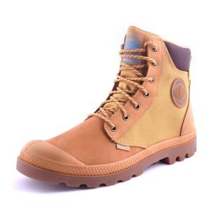 נעלי פלדיום לגברים Palladium Pampa Sport Cuff - חום בהיר