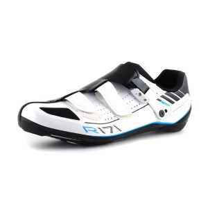 נעלי שימנו לגברים Shimano R171 - שחור/לבן