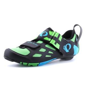 נעלי פרל איזומי לגברים Pearl Izumi Tri Fly Carbon - שחור/ירוק
