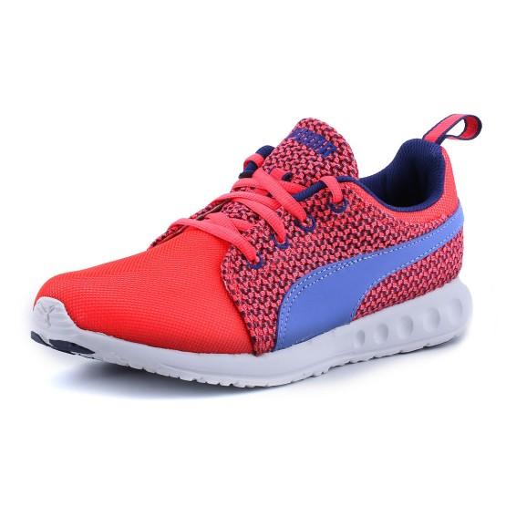 נעלי פומה לנשים PUMA Carson Runner Knit - כחול/כתום