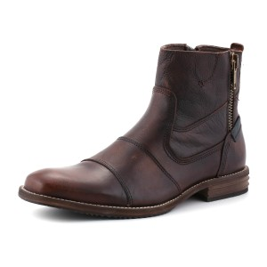 נעלי בולבוקסר לגברים Bullboxer Grant Zipper - חום