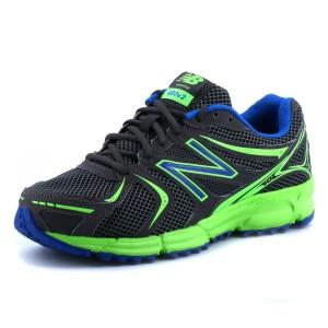נעלי ניו באלאנס לגברים New Balance MT490 V2 - אפור/ירוק