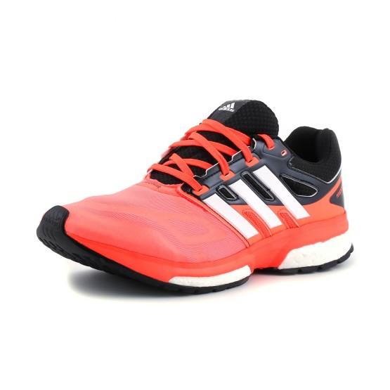 מוצרי אדידס לגברים Adidas Response Boost Techfit - שחור/כתום