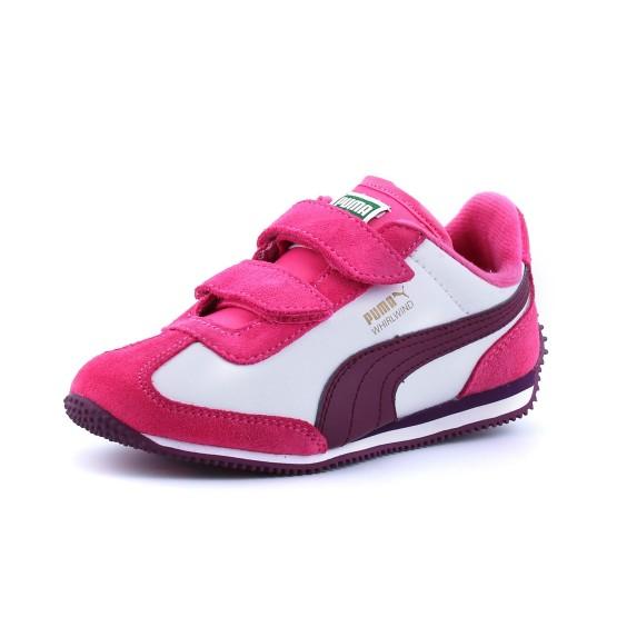 נעלי פומה לפעוטות PUMA  Whirlwind Lv - ורוד