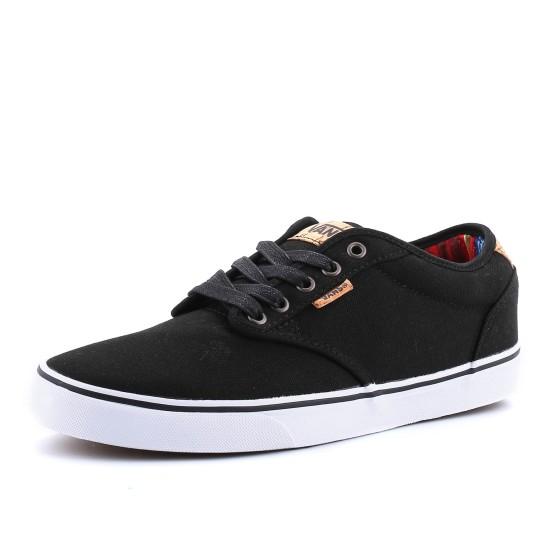 נעלי ואנס לגברים Vans  Atwood Deluxe - שחור/לבן