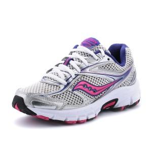 נעלי סאקוני לנשים Saucony Grid Cohesion 8 - אפור