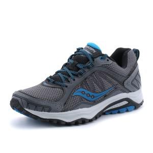 נעלי סאקוני לגברים Saucony Grid Excursion TR9 - אפור
