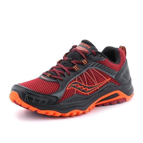 נעלי סאקוני לגברים Saucony Grid Excursion TR9 - שחור/כתום