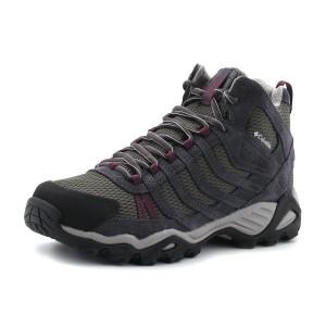 נעלי קולומביה לנשים Columbia Helvatia Mid WP - אפור
