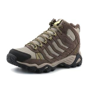 נעלי קולומביה לנשים Columbia Helvatia Mid WP - אפור בהיר
