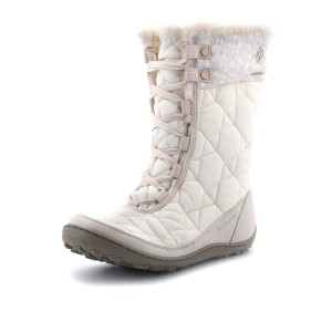 נעלי קולומביה לנשים Columbia Minx Mid Omni-Heat Print - לבן