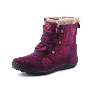 נעלי קולומביה לנשים Columbia Minx Shorty Omni-Heat Print - סגול