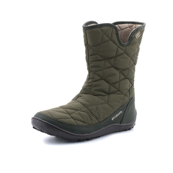 נעלי קולומביה לנשים Columbia Minx Slip II Omni-Heat - ירוק כהה