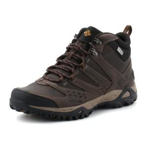 נעלי קולומביה לגברים Columbia Peakfreak Xcrsn Mid Leather - חום