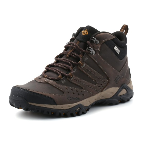 מוצרי קולומביה לגברים Columbia Peakfreak Xcrsn Mid Leather - חום