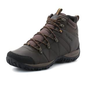 נעלי קולומביה לגברים Columbia  Peakfreak Venture Mid WP - חום