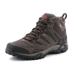נעלי קולומביה לגברים Columbia Peakfreak Xcrsn Mid Outdry - חום