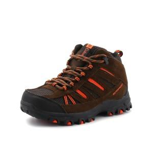 נעלי קולומביה לנוער Columbia Youth Pisgah Peak Mid WP - חום