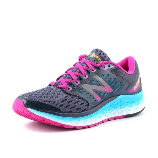 נעלי ניו באלאנס לנשים New Balance W1080 V6 - אפור/סגול