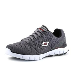 נעלי סקצ'רס לגברים Skechers Relaxed Fit - אפור
