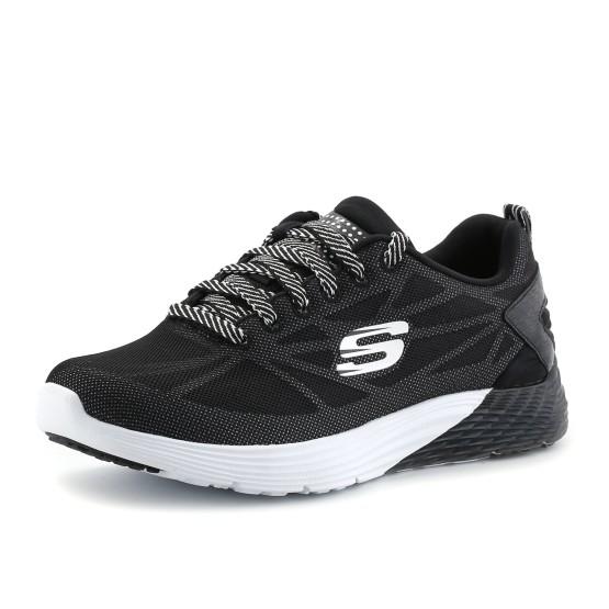 נעלי סקצ'רס לנשים Skechers Relaxed Fit - שחור/לבן