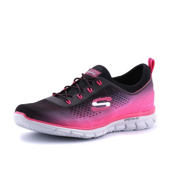 נעלי סקצ'רס לנשים Skechers Glider Fearless - ורוד/שחור