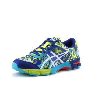 נעלי אסיקס לנוער Asics Gel-Noosa TRI 11 GS - כחול/צהוב