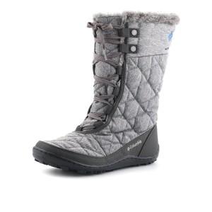 נעלי קולומביה לנשים Columbia Minx Mid Omni-Heat Twill - אפור
