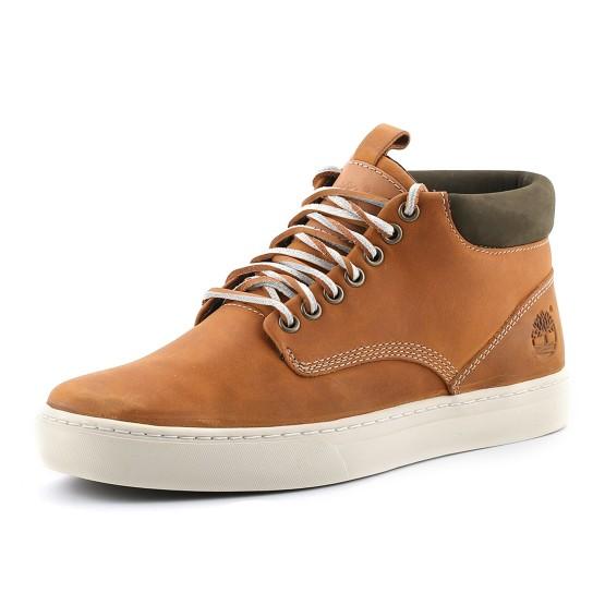נעלי טימברלנד לגברים Timberland Adventure Cupsole Chukka - חום