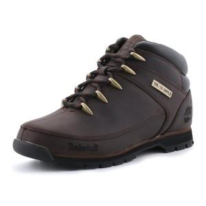 נעלי טימברלנד לגברים Timberland Euro Sprint Hiker - חום כהה