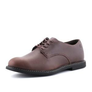 נעלי טימברלנד לגברים Timberland Cobleton Oxford - חום כהה